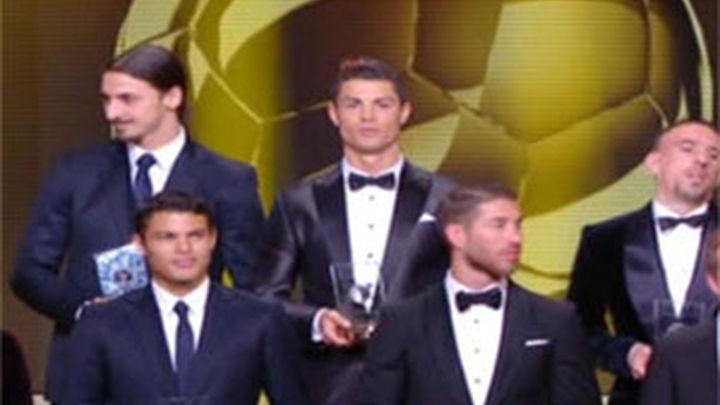 Ramos, Iniesta y Xavi, únicos españoles en el once ideal de 2013