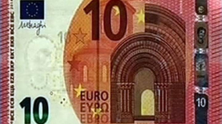 Los nuevos billetes de diez euros comenzarán a circular el 23 de septiembre