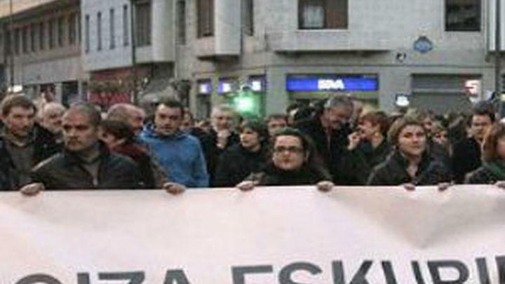Las víctimas piden que el juez investigue si en la marcha de Bilbao se enalteció a ETA