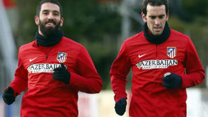 El Atleti comienza la puesta a punto para recibir al Sevilla