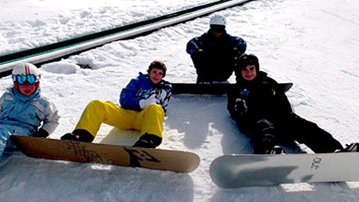Practica snow y esquí en Guadarrama