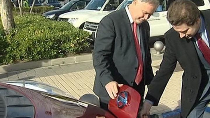 San Sebastián de los Reyes estrena punto público de recarga rápida para coches eléctricos