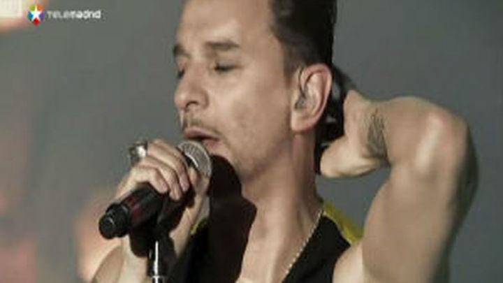 Depeche Mode abarrota el Palacio de los Deportes con la maquinaria engrasada