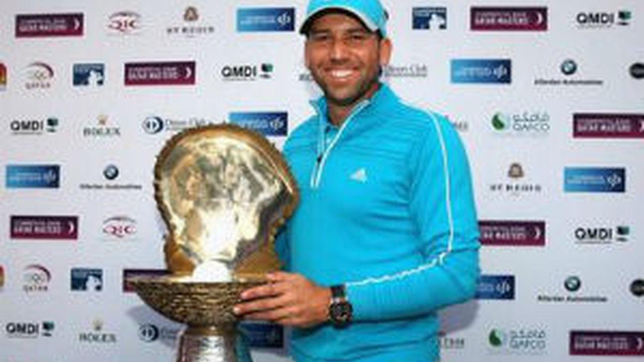 Sergio García gana el Abierto de Doha