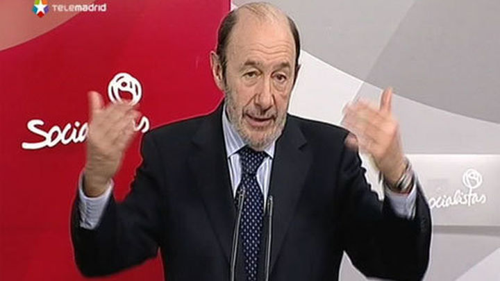 """Rubalcaba: """"Lo peor de la crisis está por llegar para muchos colectivos"""""""