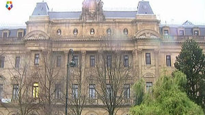 La bandera española sigue sin ondear en la Diputación de Guipúzcoa