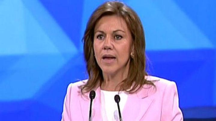 Cospedal dice que el caso del ático no tiene por qué influir en la candidatura de González