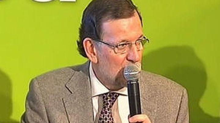 """Rajoy anuncia """"bajadas sucesivas de impuestos"""" a partir de 2015"""