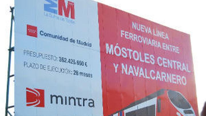 Móstoles pide a la Comunidad que exija a OHL terminar el tren a Navalcarnero