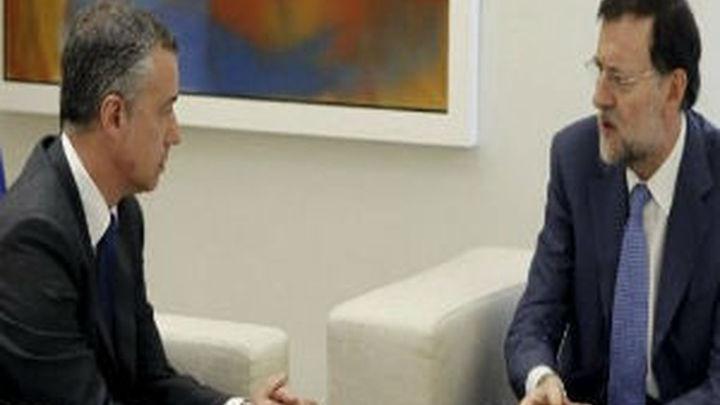 Rajoy se reunió con Urkullu en Moncloa para analizar el final de ETA