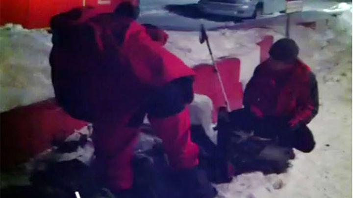 Muere un montañero atrapado por el temporal en la sierra de Madrid