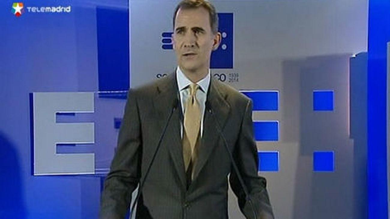 Don Felipe avala el futuro de EFE como parte activa de la democracia española