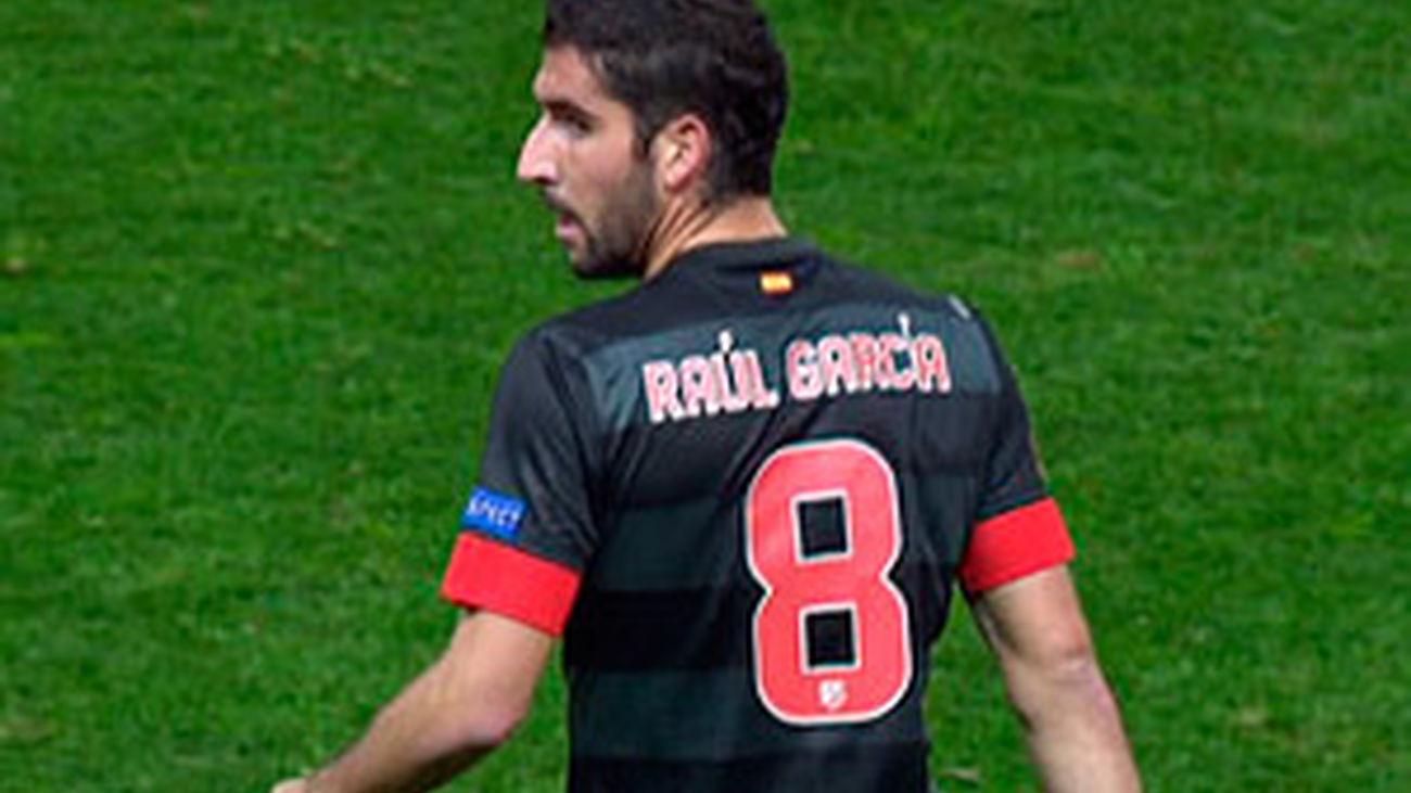 """Raúl García: """"Para nada somos favoritos ante el Milan"""""""