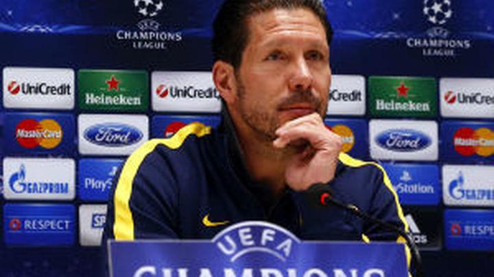 """Simeone: """"Espero al mejor Milán y un encuentro nada cómodo"""""""