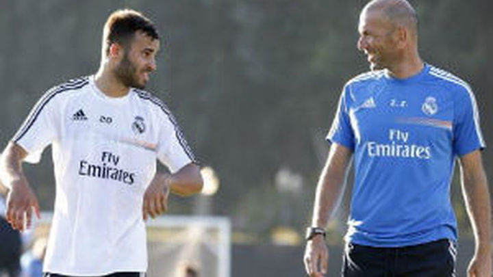 Zidane mima a Jesé