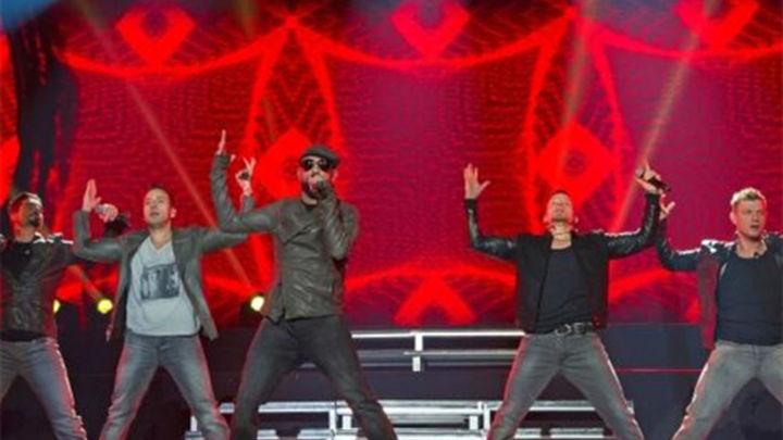 Los 'Backstreet Boys' reviven los años 90 en el Palacio de Vistalegre