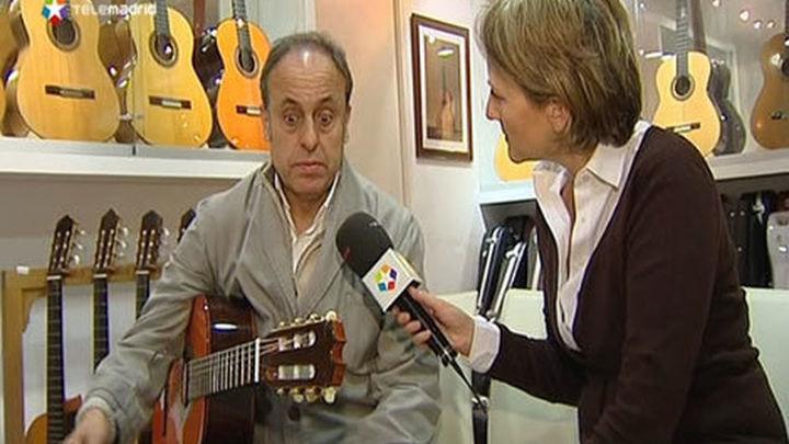 """Felipe Conde, luthier: """"A Paco de Lucía le  gustaba la guitarra con pegada y poderío"""""""