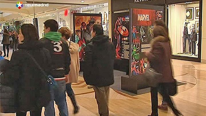 La segunda mayor afluencia a centros comerciales en Madrid se da los domingos