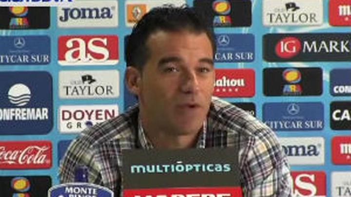 """Luis García: """"Tenemos un partido vital para cambiar de una vez la racha"""""""