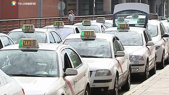 Unos 20.000 usuarios del taxi afectados cada día de manifestación en el Centro