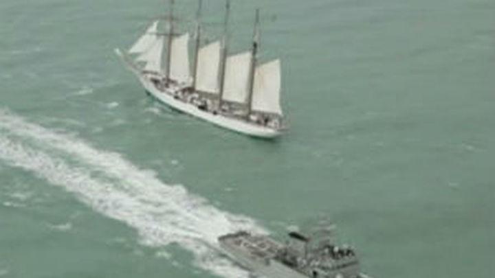 El 'Juan Sebastián de Elcano' inicia la segunda fase de su crucero de instrucción