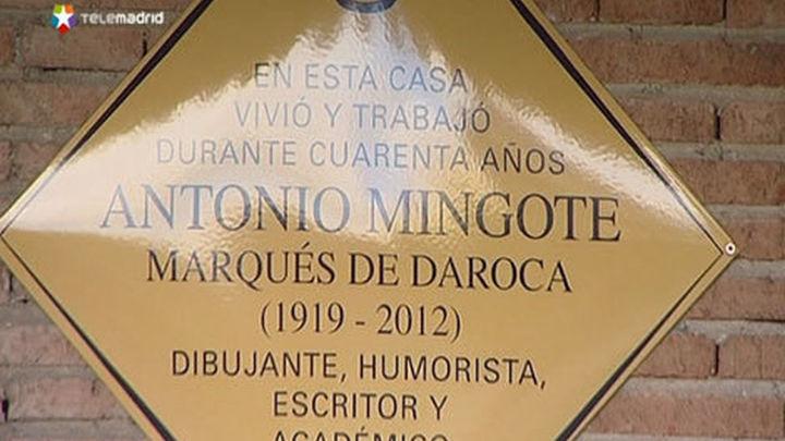 Mingote, en la memoria de Madrid