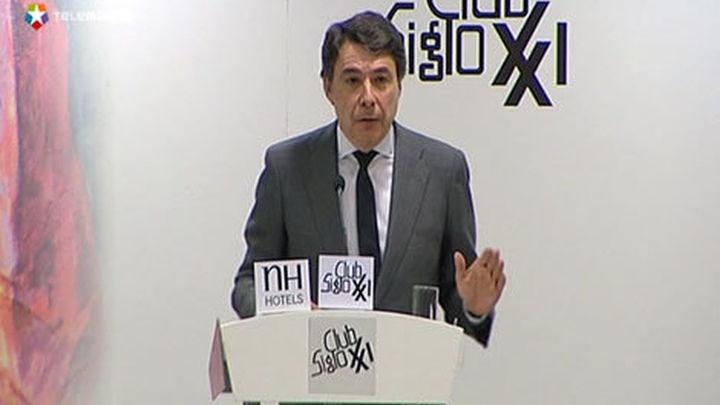 González reclama una financiación igual para todas las Comunidades