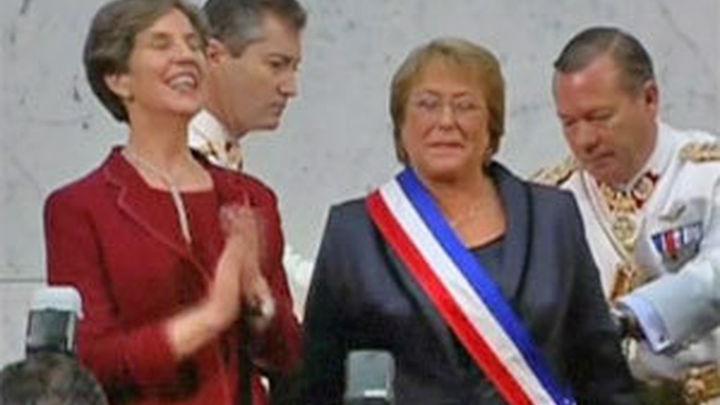 Michelle Bachelet, investida presidenta de Chile
