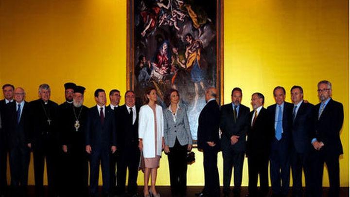 La Reina inaugura la gran exposición del Greco