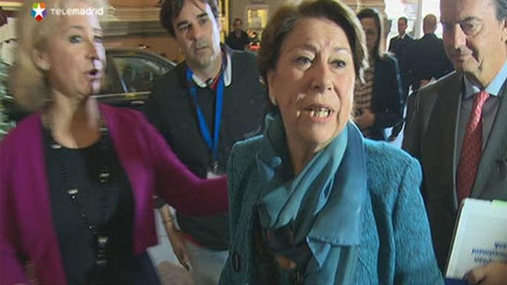 """Magdalena Álvarez dice que no dimitirá y que demostrará la """"injusticia"""" que sufre"""