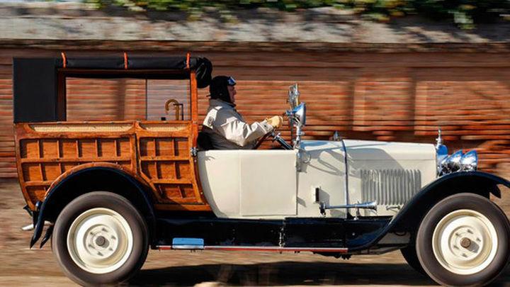 Los coches clásicos toman Madrid