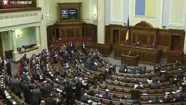 """El Parlamento de Kiev aprueba luchar por """"la liberación de Ucrania"""""""