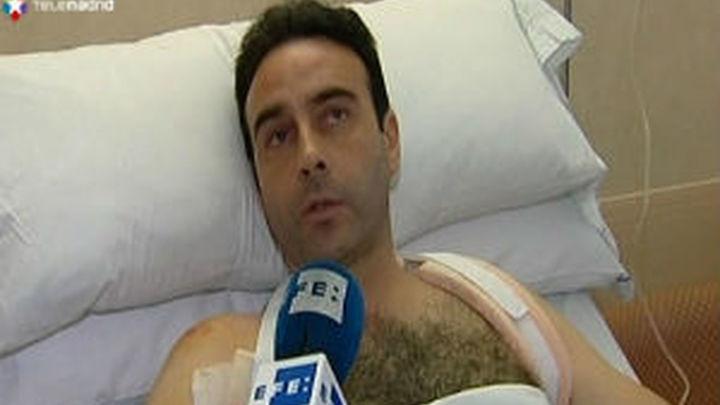 Enrique Ponce se marcha a Madrid para ser operado de la clavícula fracturada