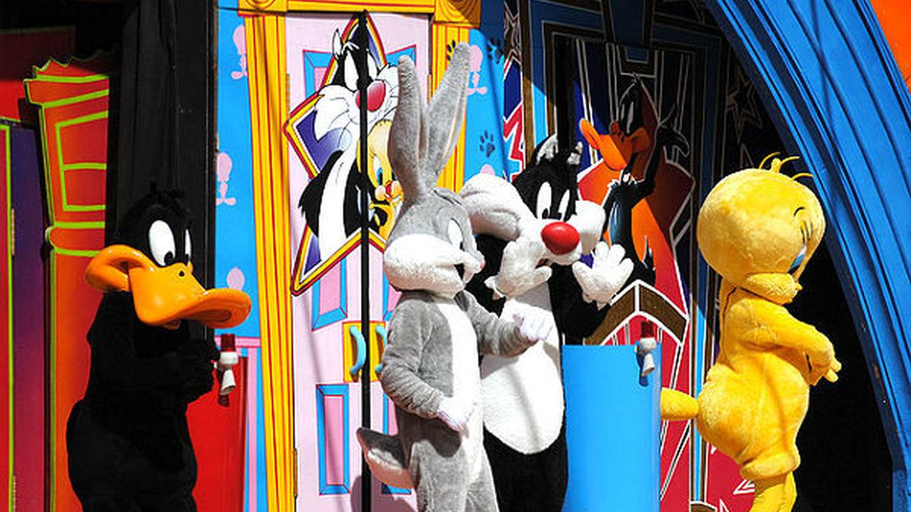Personajes animación del Parque Warner