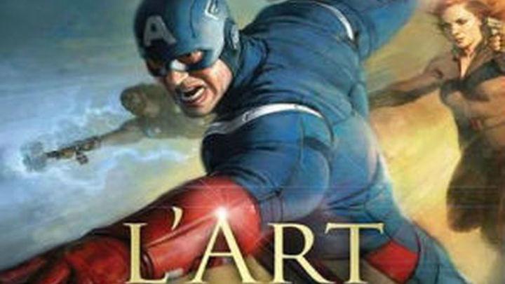 Homenaje a los superhéroes de Marvel a orillas del Sena