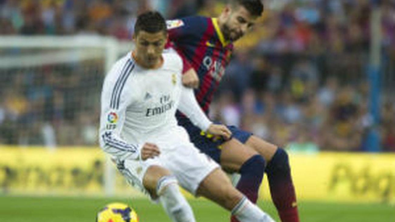 Cristiano Ronaldo y Piqué