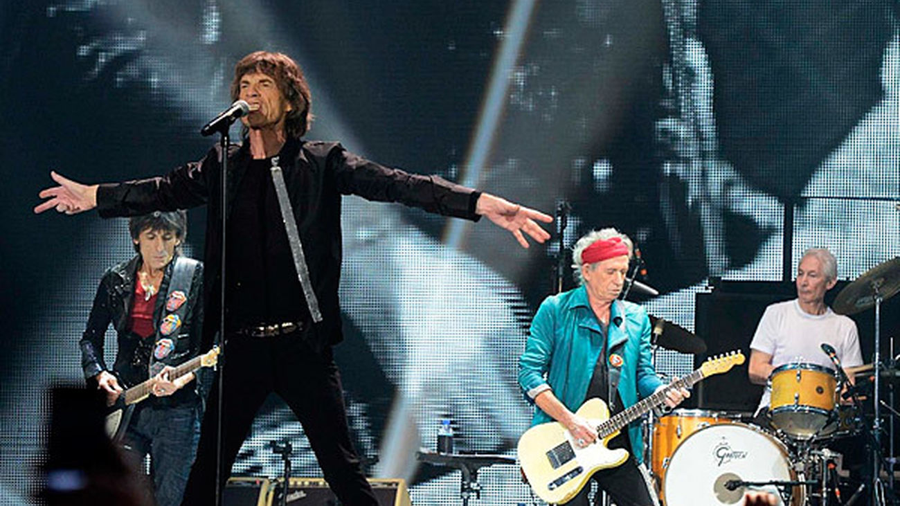 Los Rolling Stones en concierto