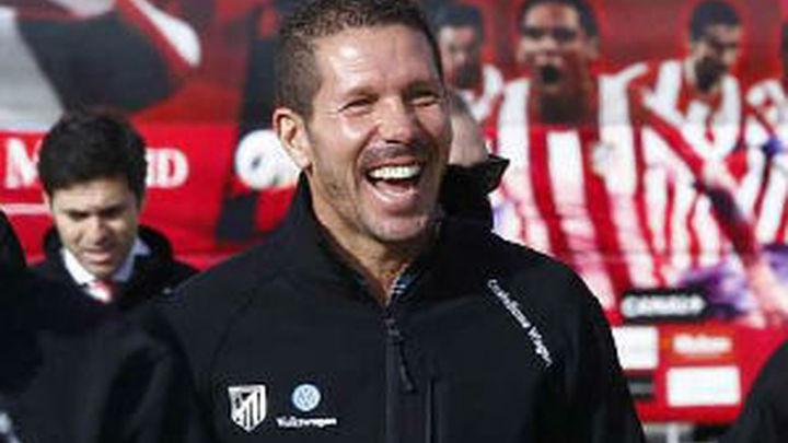 """Simeone, sobre las quejas arbitrales del Madrid: """"Me hicieron reír mucho"""""""