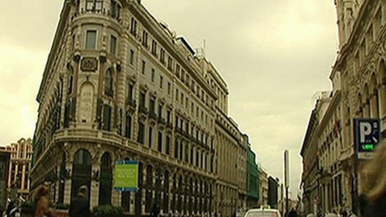 Plaza de Canalejas en Madrid