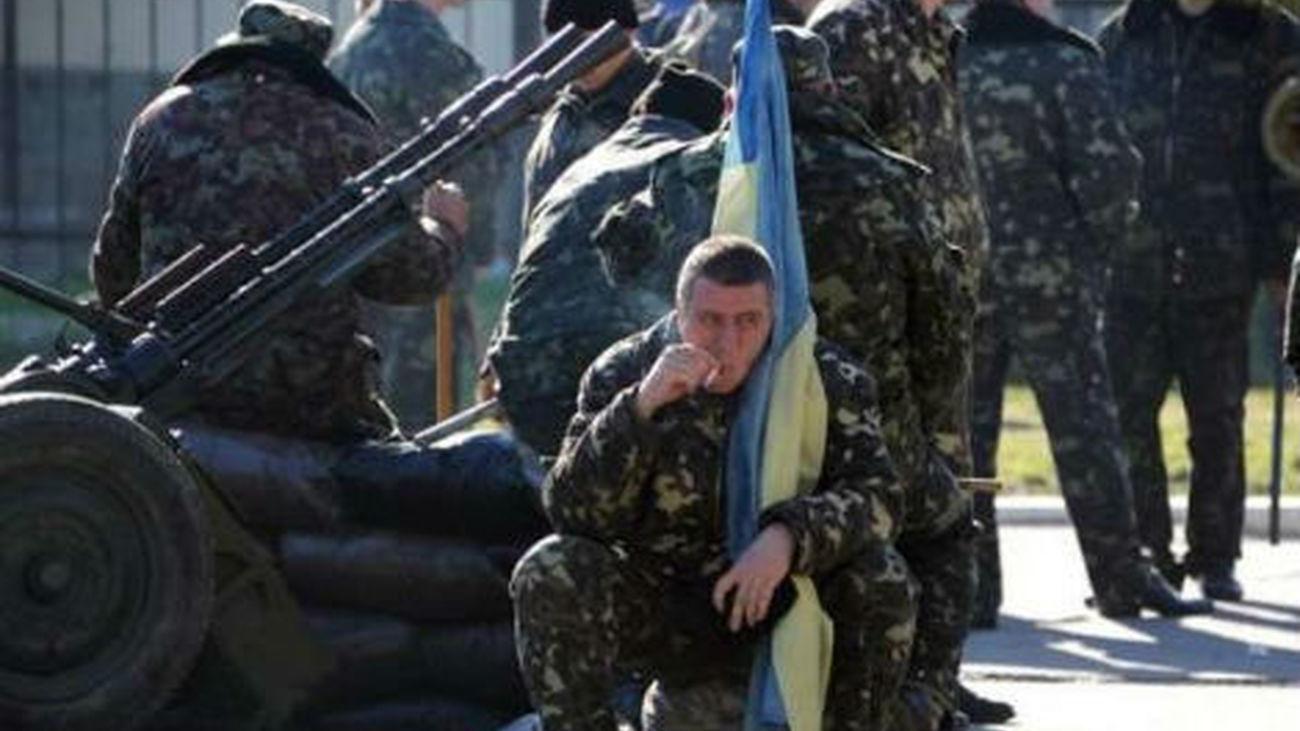 Soldados de Ucrania