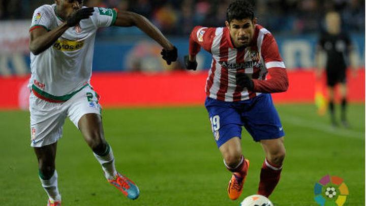 1-0. Diego Costa mantiene líder al Atlético