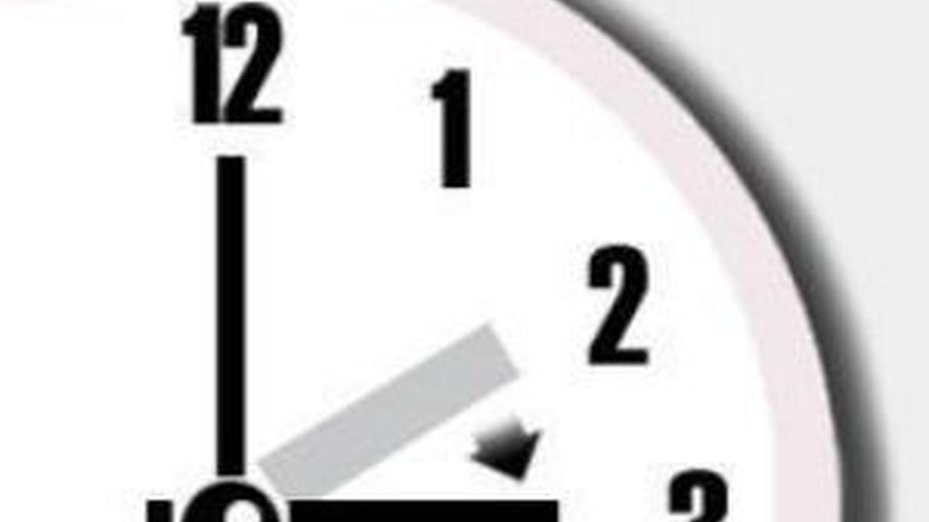 La madrugada del domingo 26 de marzo se adelantan los relojes una hora