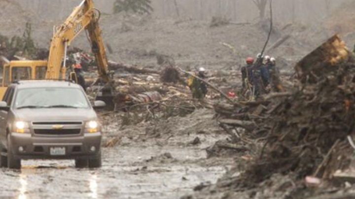 Ya son 21 los muertos por el deslizamiento de tierras en Washington
