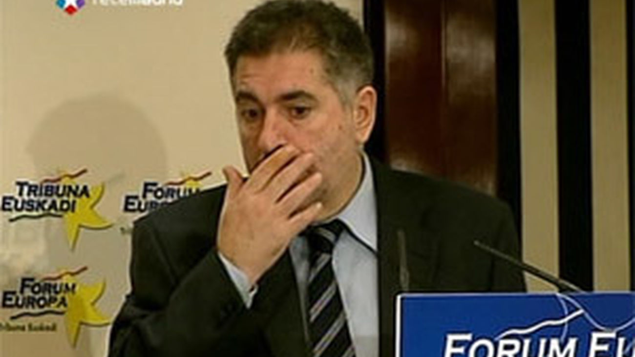 "Eguiguren (PSE): ""En Madrid con ETA se vivía mejor"""