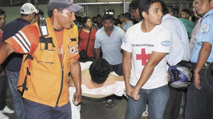 Nicaragua decreta alerta roja tras  el terremoto de magnitud 6,2