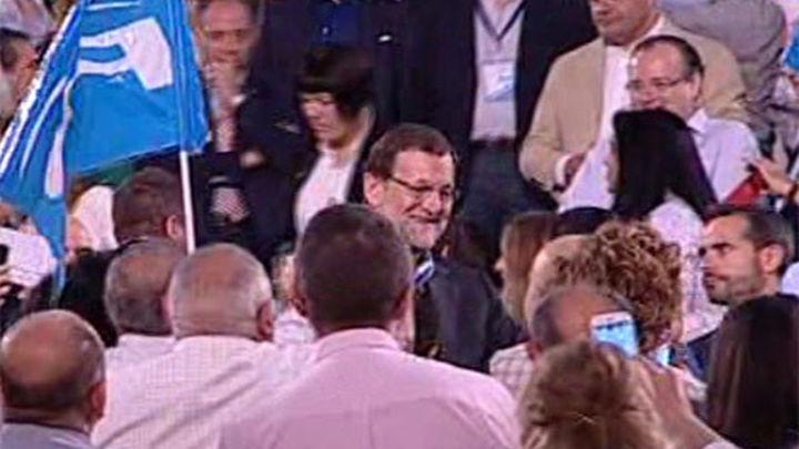"""Rajoy: """"Arias Cañete es el candidato que algunos no querían ver ni en pintura"""""""