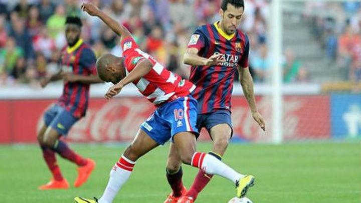 1-0. El Barcelona se deja media liga en Granada