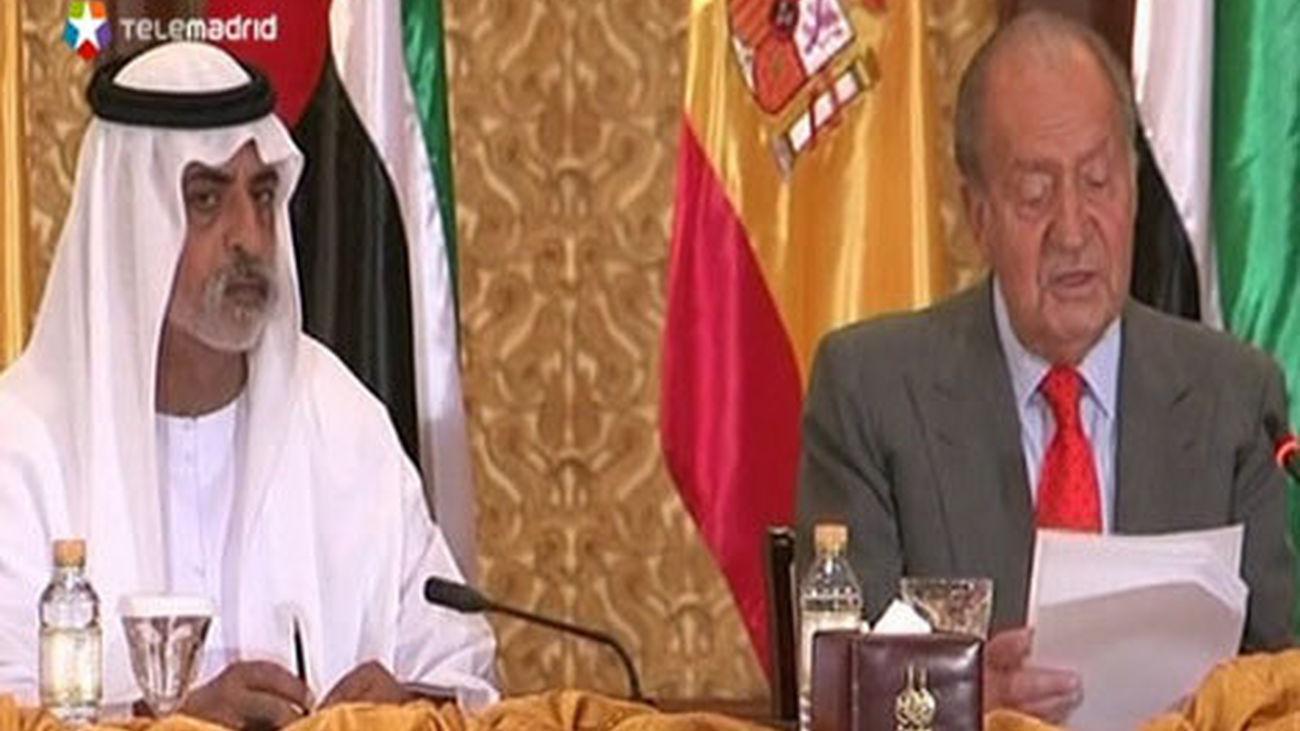 El Rey participa en un encuentro empresarial en los Emiratos Arabes