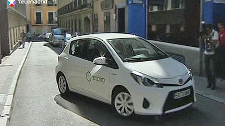 Madrid apuesta por el coche compartido para reducir la contaminación