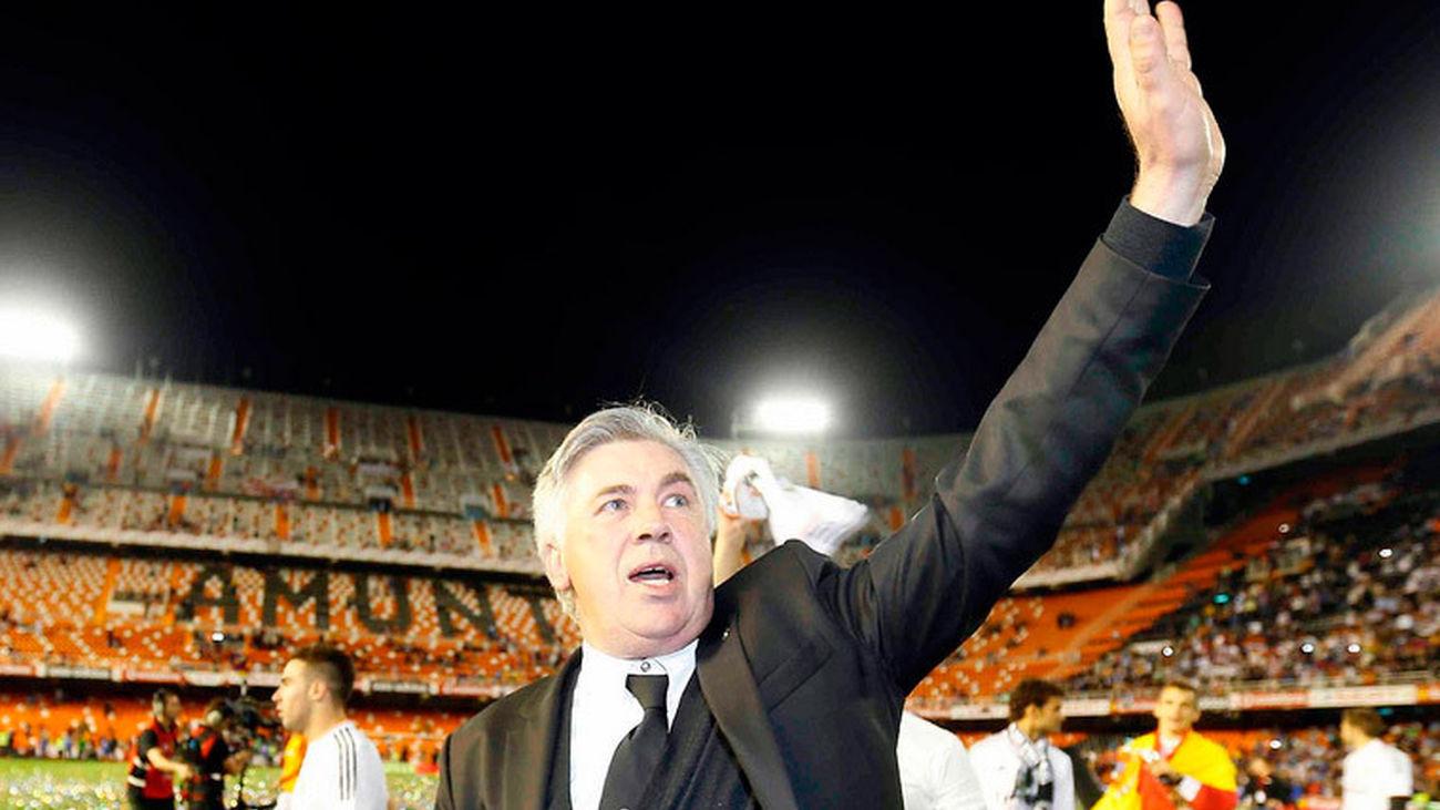 """Ancelotti: """"Merecimos el título"""""""